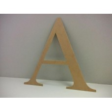 40cm mdf Letters A