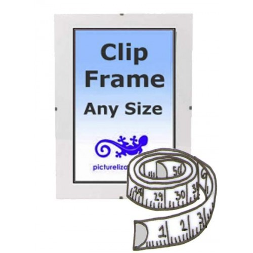 Custom Made to measure Clip Frame