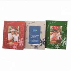 Set of Three Christmas Picture Frames