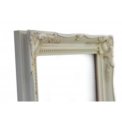 683d70599ab Swept Picture Photo Frame Antique ivory White Black Silver Gold