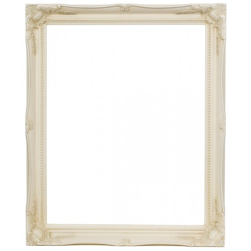 Swept Picture Photo Frame Antique ivory White Black Silver Gold