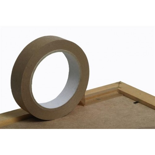 Brown 75mm Eco Frame sealing and mounting tape